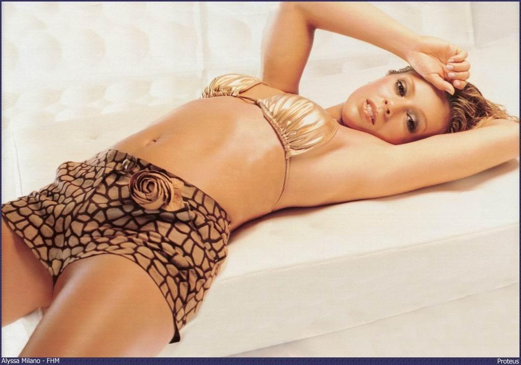 Allysa milano fotos desnudas