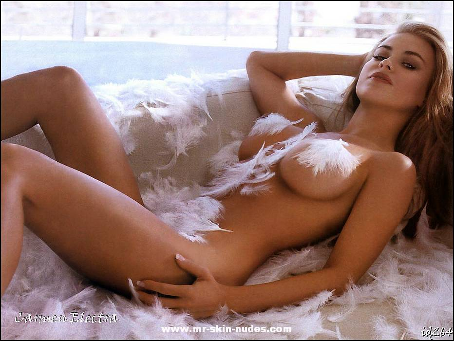 Carmen electra desnuda real