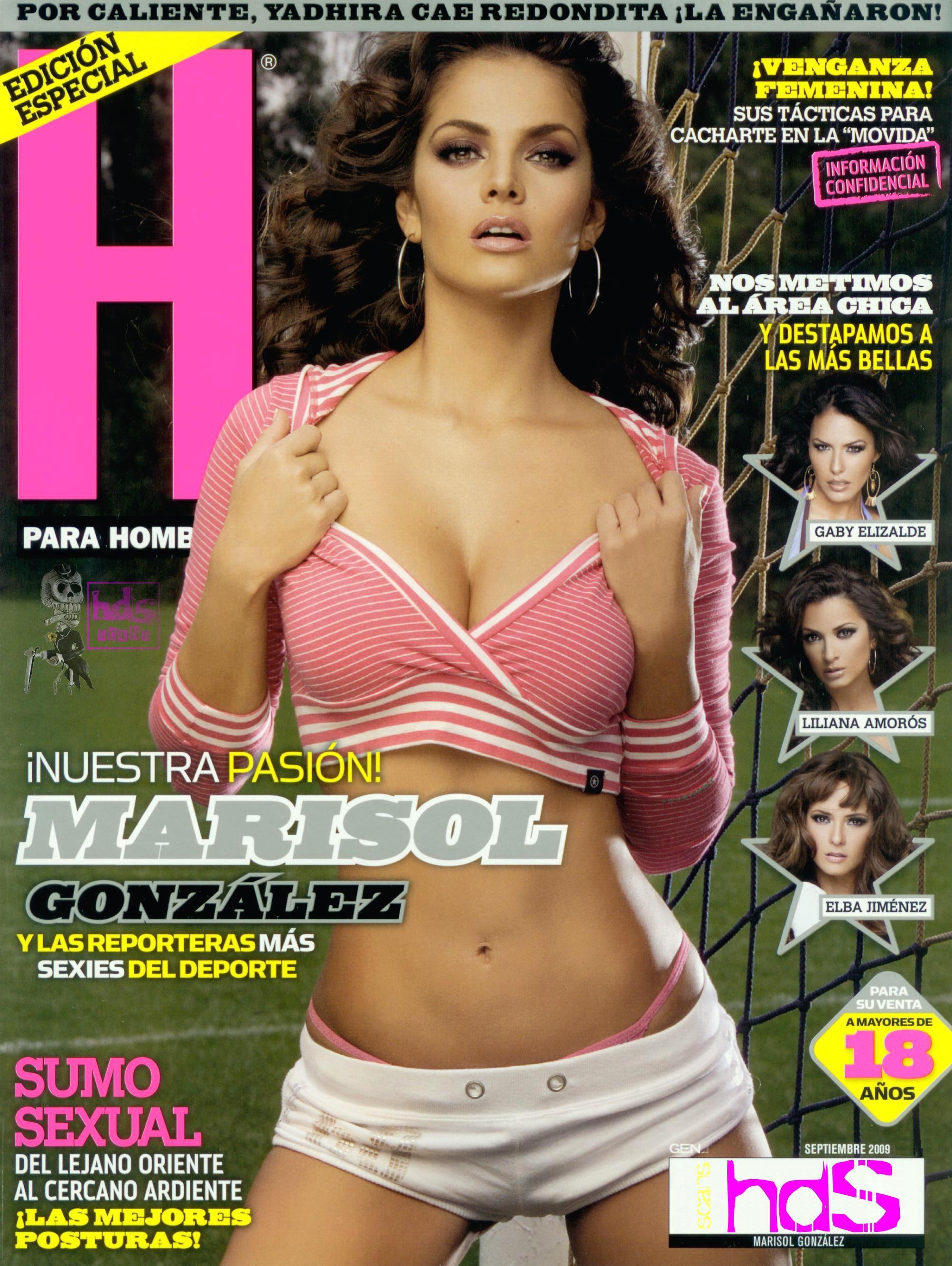 Marisol González desnuda