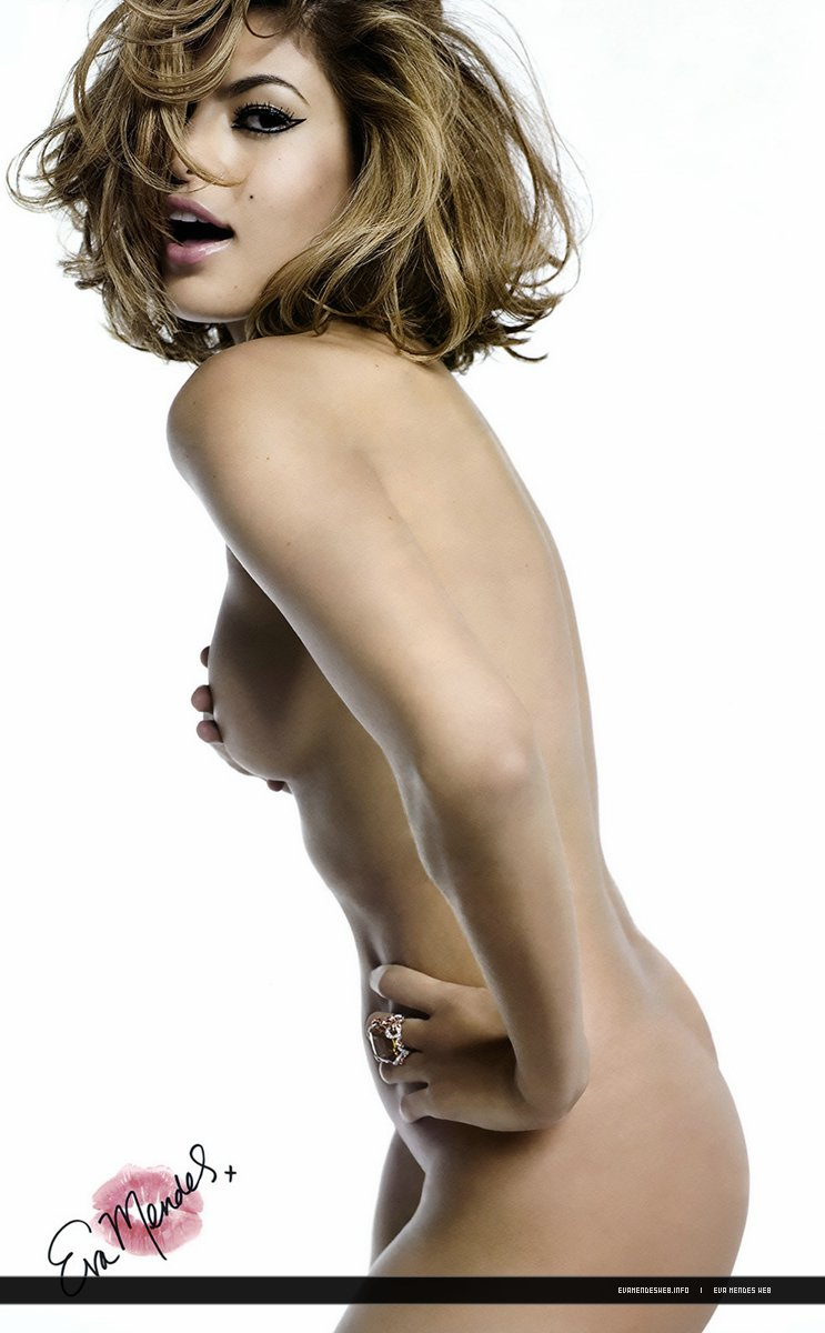 Tiros desnudos Eva mendes