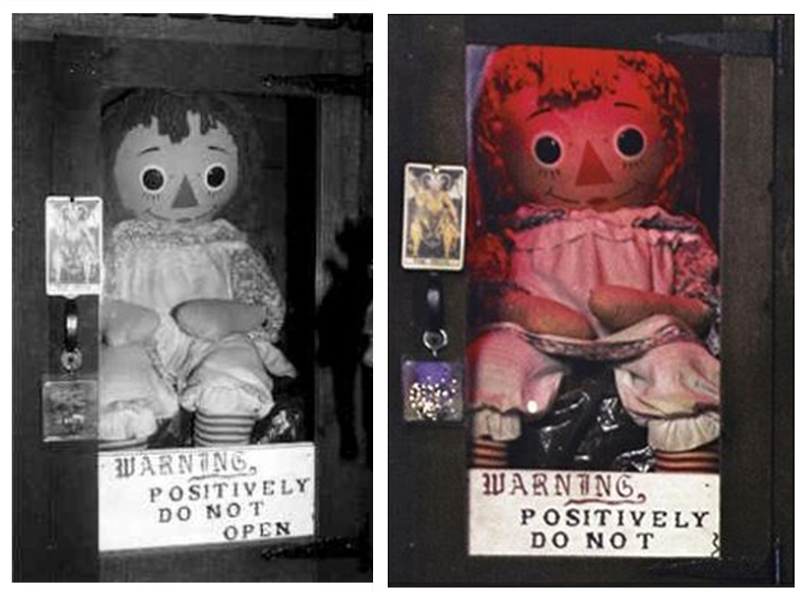 muñeca real annabelle