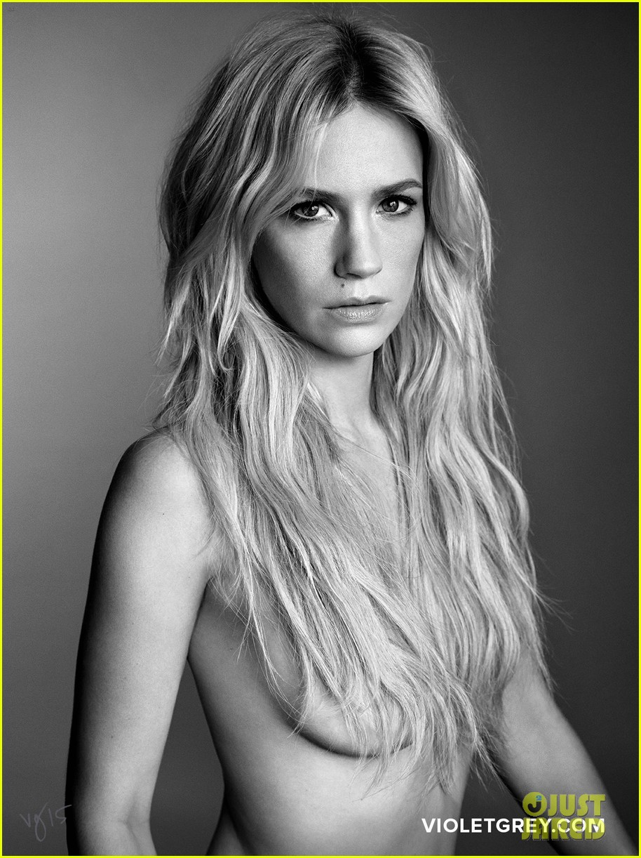 January Jones desnuda Violet