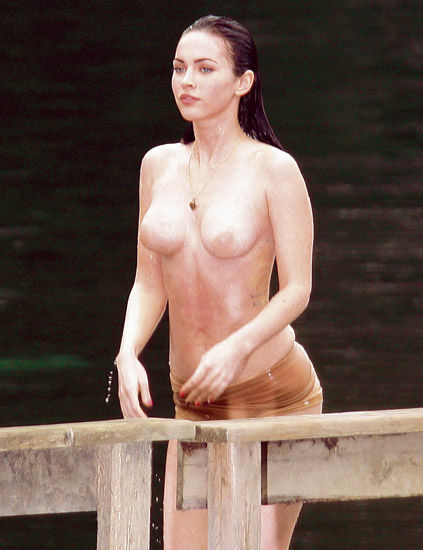 Megan fox desnudos falsos