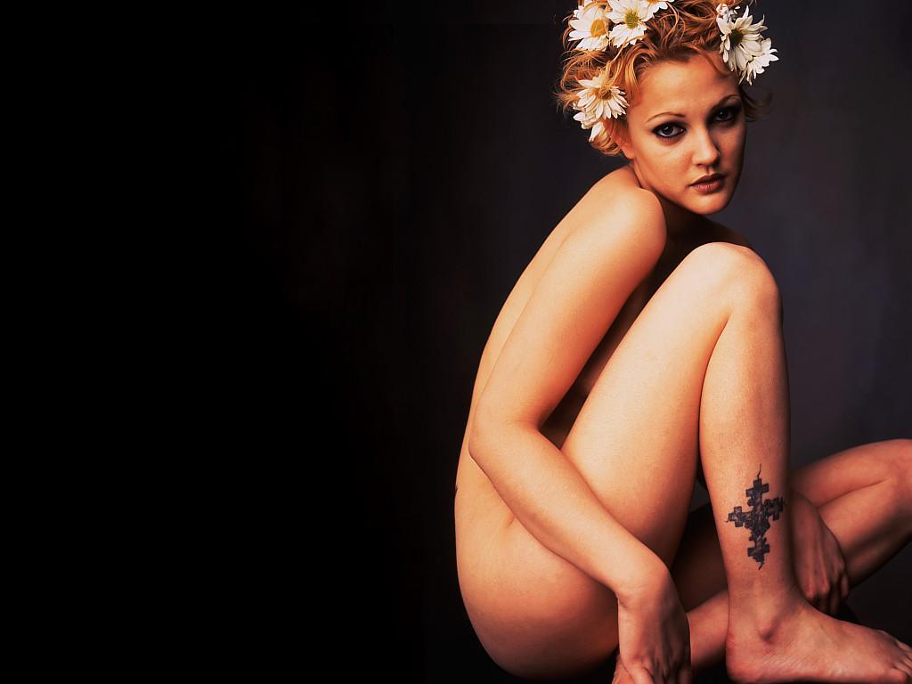 Drew Barrymore desnuda