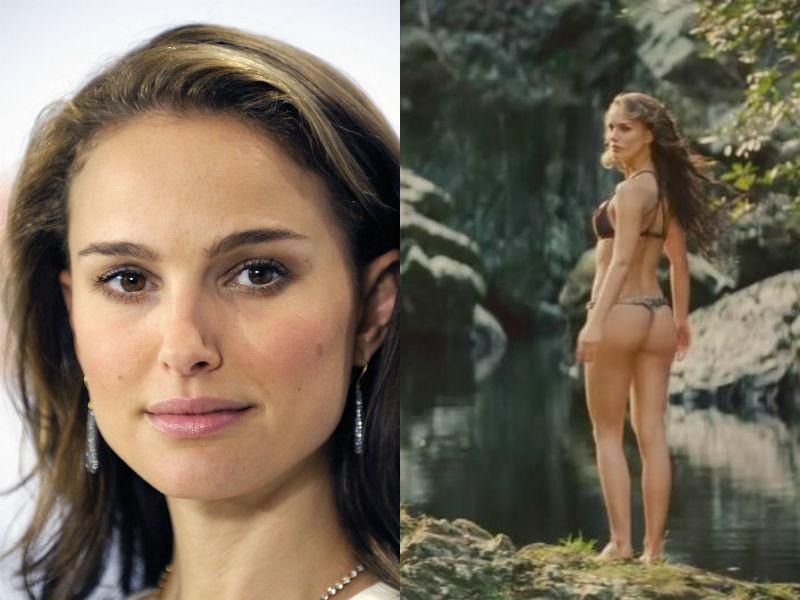 Famosas escenas de actrices desnudas que son falsas