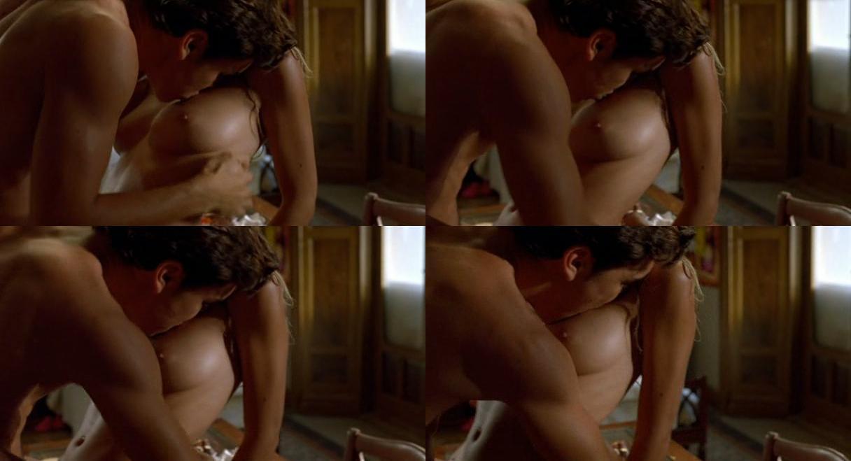 Amaia Salamanca Desnuda Con Tetas Hubo Paraíso Cultture