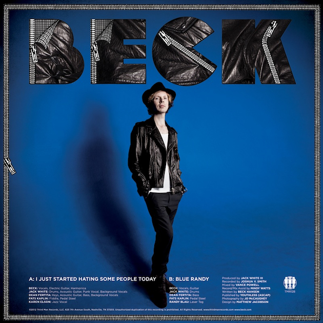 Escucha el tema de Beck junto a Jack White: 'I just started hating some people today'