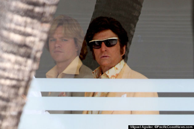 Grandiosos: Michael Douglas y Matt Damon 'Behind the Candelabra'