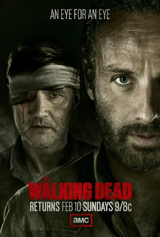The Walking Dead 3x09, poster de tambores de guerra