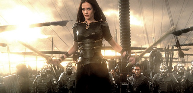 Primera imagen de Eva Green en la secuela de 300, 'Rise of an Empire'