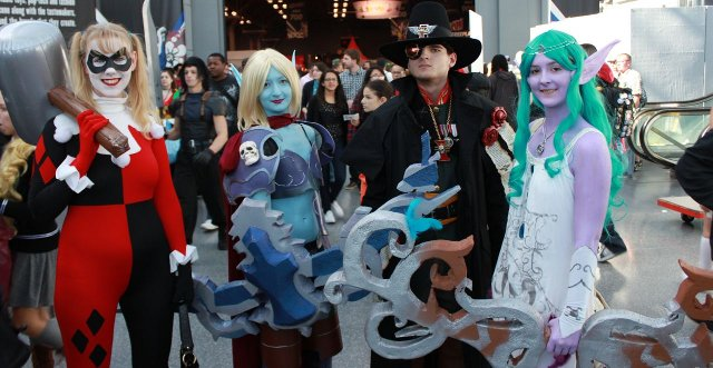 Los más originales disfraces frikis de la New York Comic Con