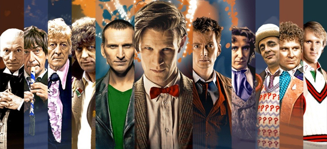 Trailer del 50 aniversario de 'Doctor Who'