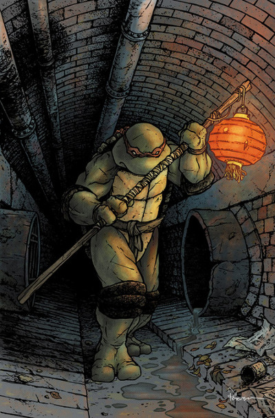 Characters from 'The Ninja Turtles' by Michael Bay