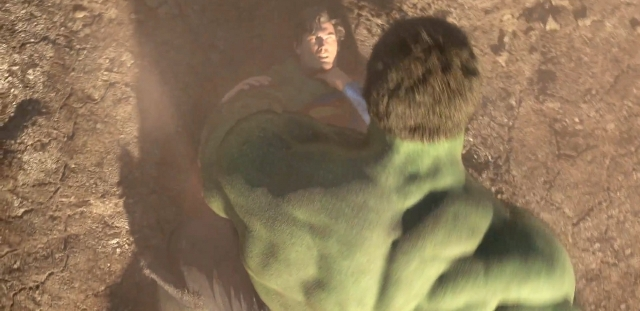 Superman contra Hulk
