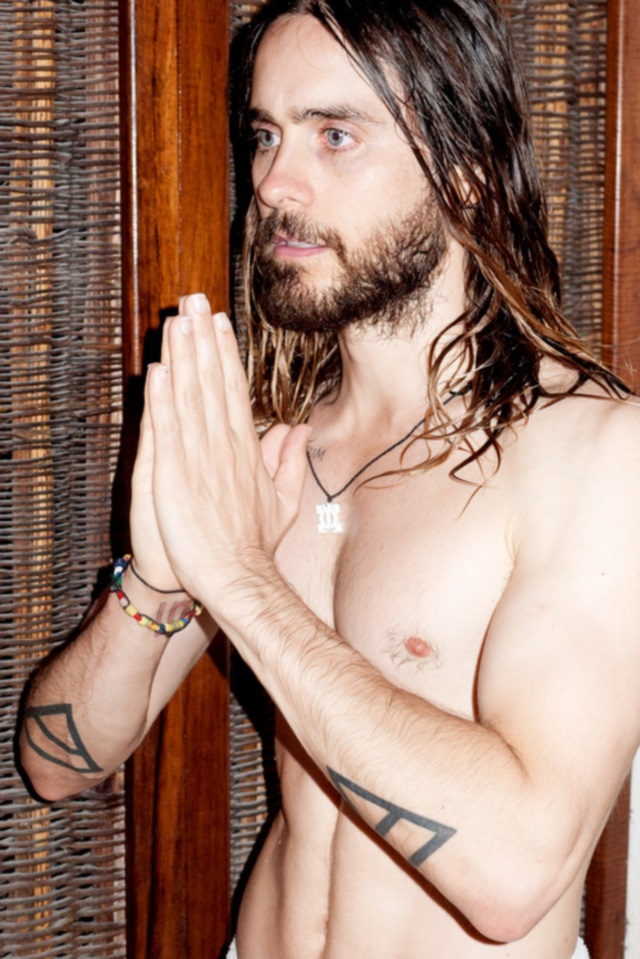 Jared Leto desnudo para Terry Richardson