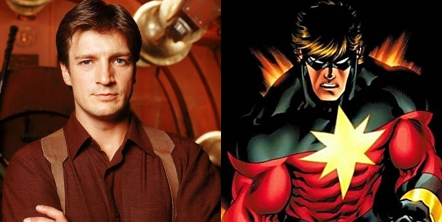 Nathan Fillion, ¿el Capitán Marvel en 'Guardianes de la Galaxia'?