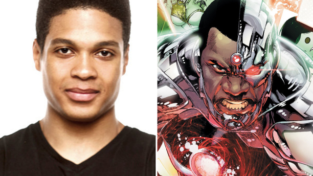 Ray Fisher interpreta a Cyborg en 'Batman Vs Superman'