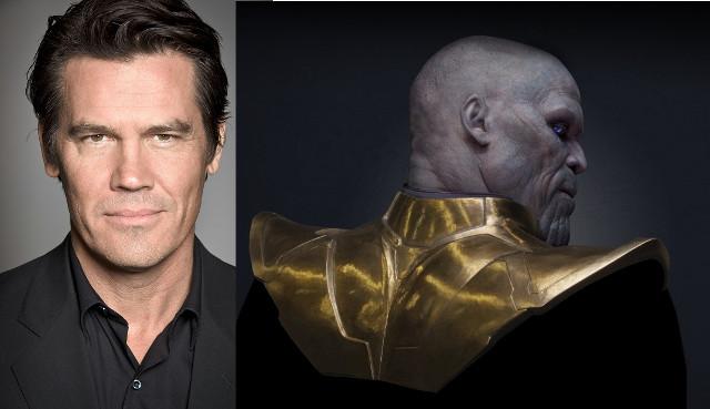 Josh Brolin ser225 Thanos en Los Guardianes de la Galaxia