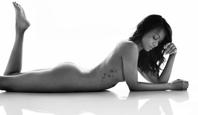 Zoe saldana fotos de bikini