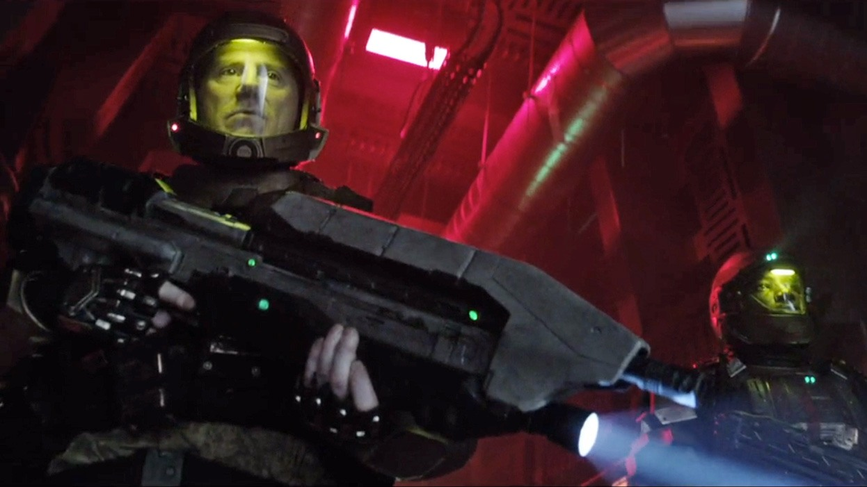 Espectacular nuevo trailer de 'Halo: Nightfall' de Ridley Scott