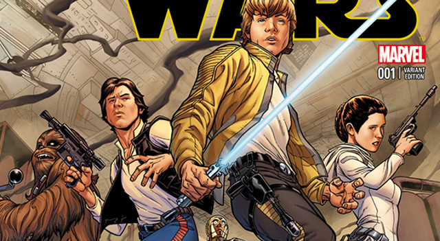 Portada del regreso de 'Star Wars' de Marvel