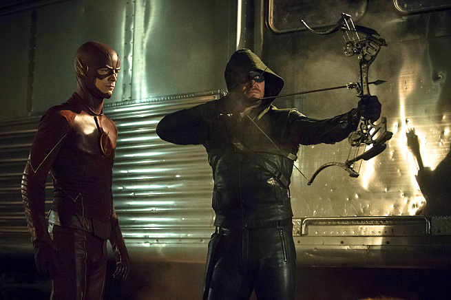Primeras fotos del crossover entre The Flash y Arrow