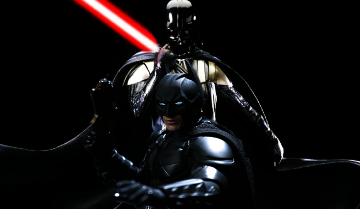 Batman vs Darth Vader, el vídeo friki definitivo
