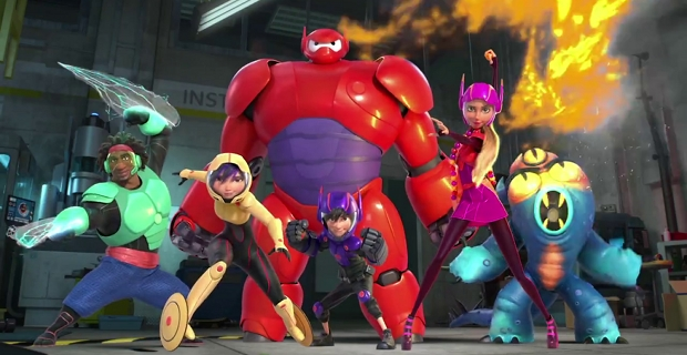 Filtrada escena post créditos de 'Big Hero 6', héroes de Disney y Marvel Studios