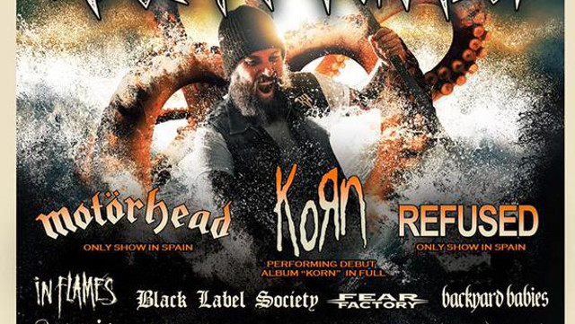 Conciertos de Korn, Refused y Children of Bodom en el Resurrection Fest 2015