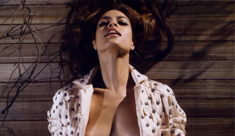Eva Mendes Desnuda Toda Una Madraza Al Natural