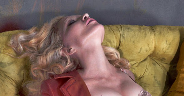 Madonna desnuda en Interview