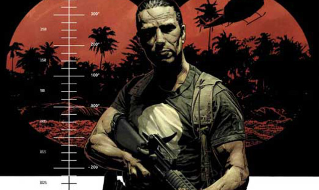 Punisher vuelve al Vietnam con Garth Ennis