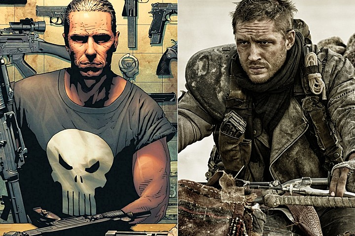 Tom Hardy, nuevo Punisher
