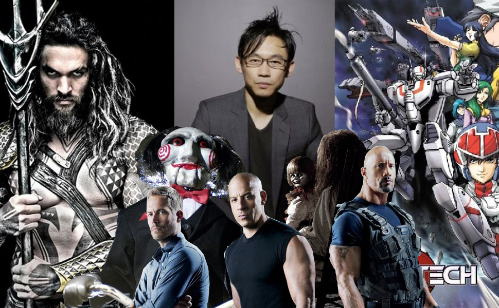 Confirmado James Wan como director de Aquaman y Robotech