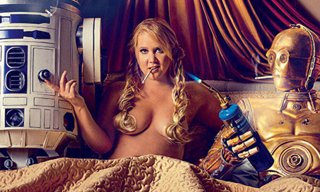 Amy Schumer desnuda con Star Wars