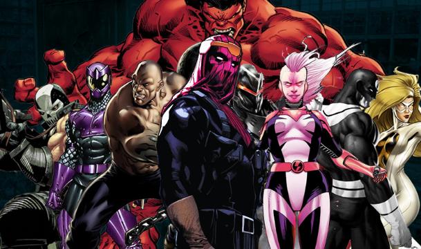 Se Postula Serie De Los Thunderbolts Con Los Villanos Marvel En