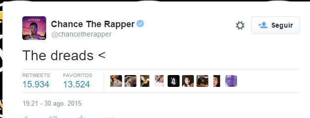 chance the rapper acusa de racista a Miley Cyrus 2