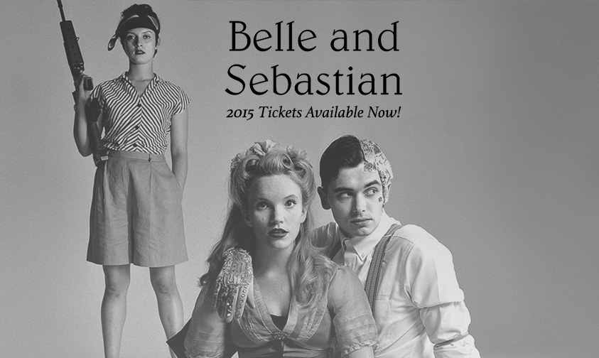 Conciertos de Belle & Sebastian en Madrid y Barcelona