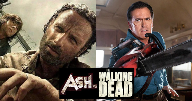 Bruce Campbell crea un crossover entre 'Ash Vs Evil Dead' y 'The Walking Dead'