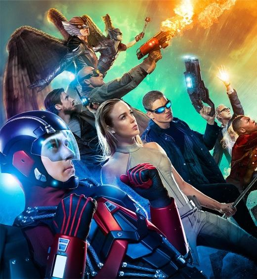 Espectacular cartel y nuevo avance de DC's Legends of Tomorrow