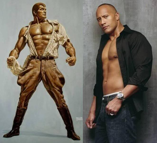 Dwayne Johnson podría ser Doc Savage