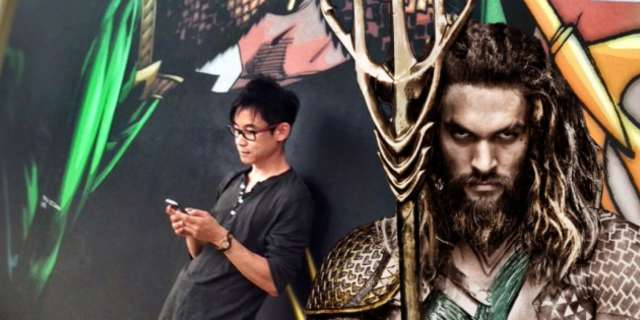 James Wan habla de su Aquaman con Jason Momoa