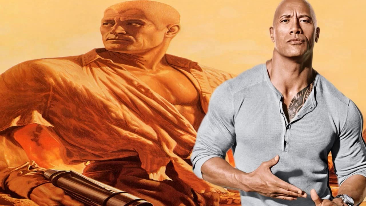 Dwayne Johnson confirmado como Doc Savage