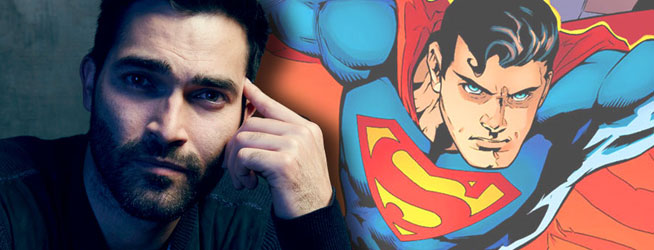 Warner anuncia al actor de 'Teen Wolf' como nuevo Superman