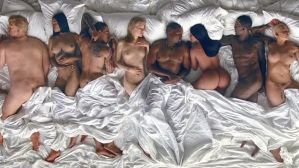 Taylor Swift desnuda con Donald Trump en la orgía del vídeo de Kanye West