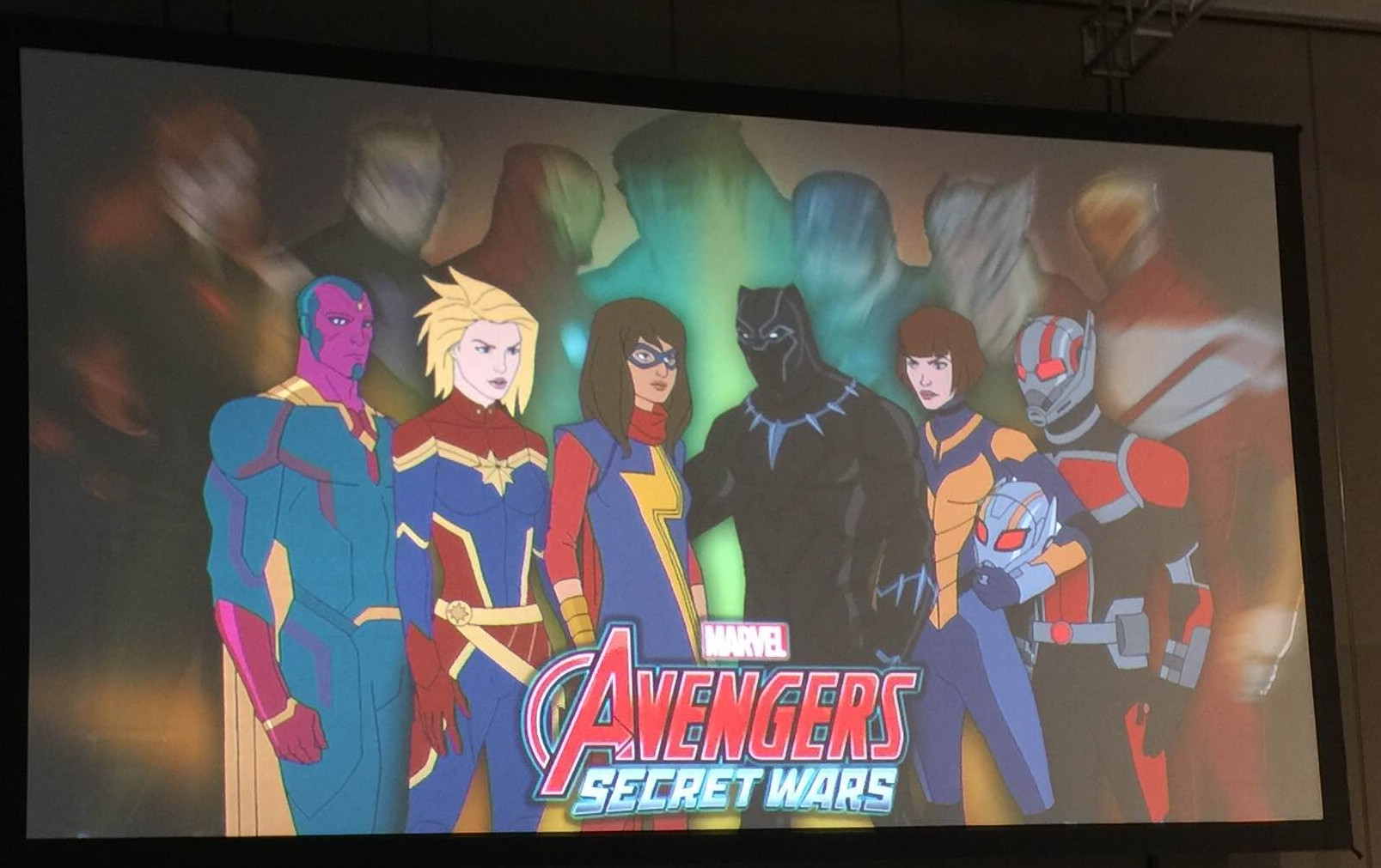 Marvel presenta la serie de televisión 'Secret Wars'