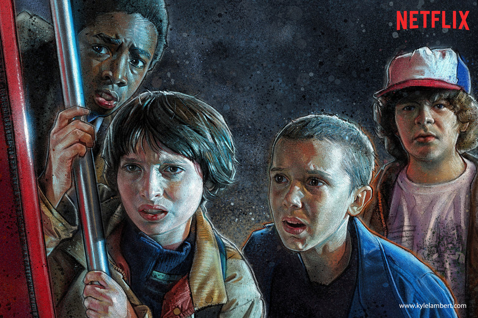 'Stranger Things' al estilo Harry Potter en su segunda temporada