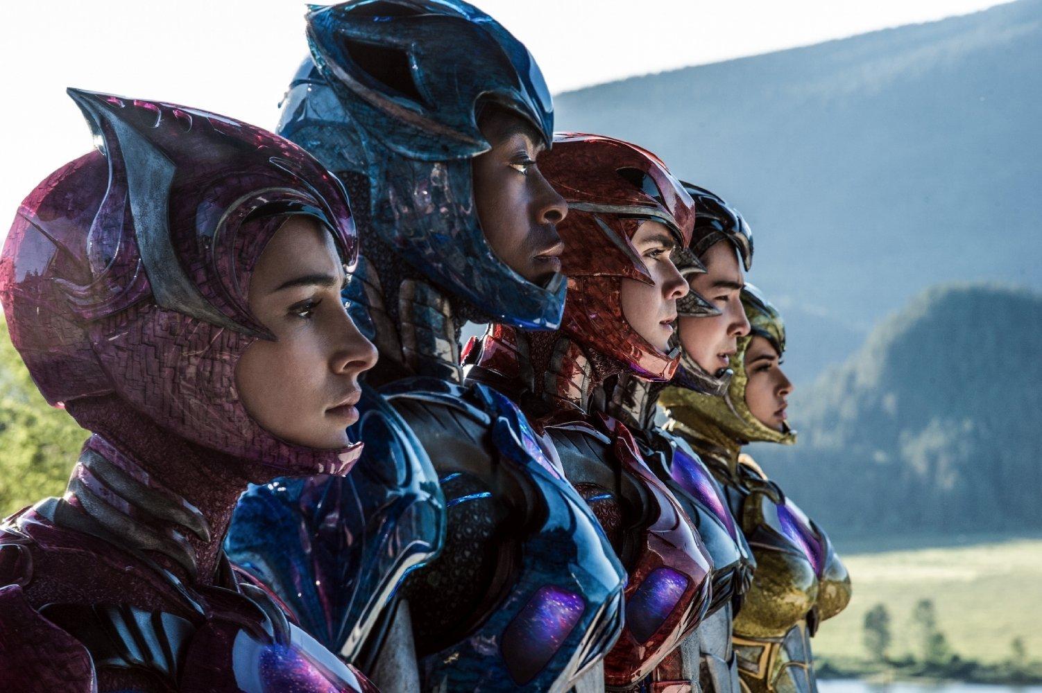 Primer vistazo a los Dinozords de la nueva 'Power Rangers'