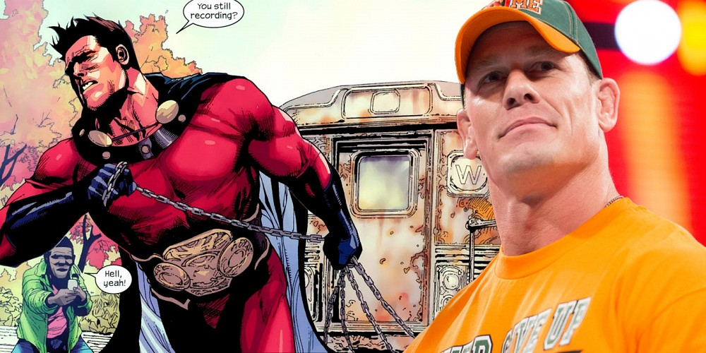 John Cena podría interpretar al 'Superior' de Mark Millar