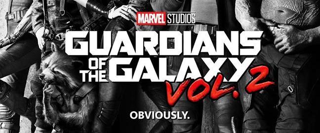 Póster oficial de 'Guardianes de la Galaxia Vol. II'